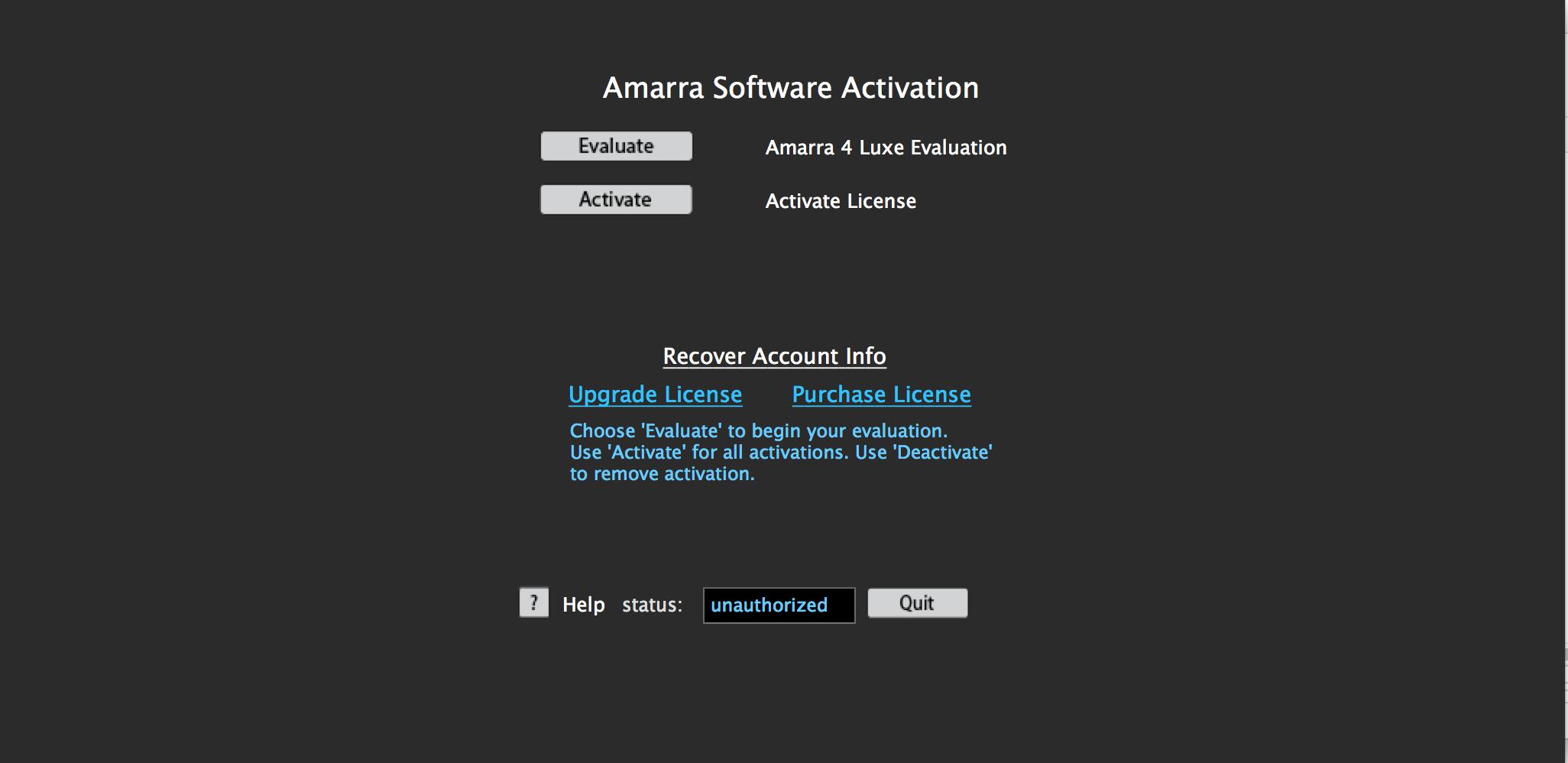 Amarra Luxe v4 3 User Manual