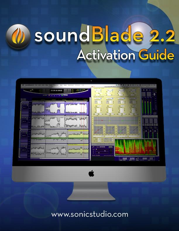 soundBlade HD Activation Guide