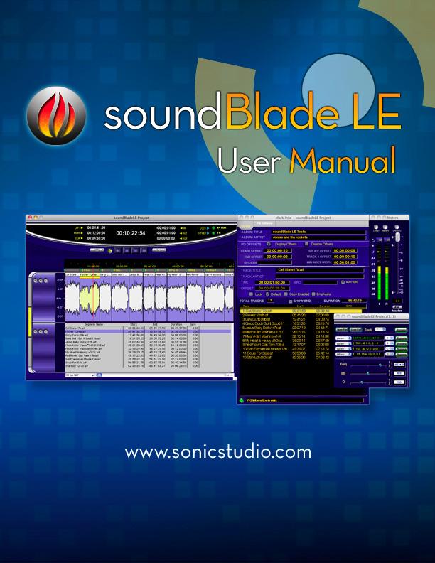soundBlade LE User Manual